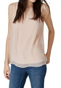 Hallhuber A-Line Silk Top