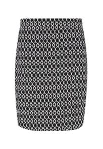 Hallhuber High-waisted jacquard skirt