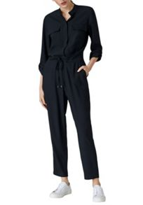 Hallhuber Jumpsuit with chest pockets