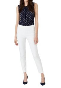 Hallhuber Cropped Skinny Trousers