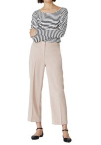 Hallhuber Cropped Marlene Trousers