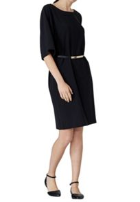 Hallhuber Kimono Sleeve Dress With Belt