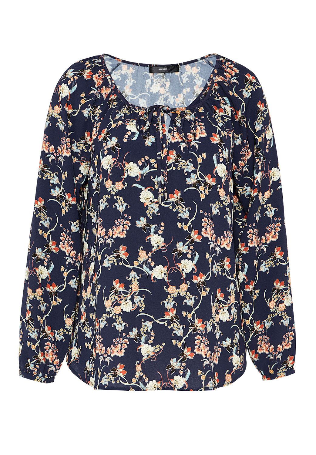 Hallhuber Floral print blouse top, Multi-Coloured