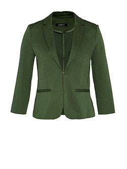 Three-quarter sleeve basic blazer SOFIA