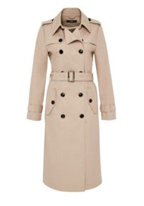 Hallhuber Long trench coat