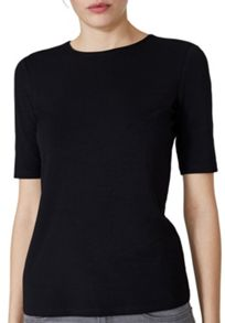 Hallhuber Round Neck Top