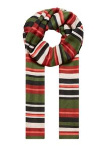 Hallhuber Multi-Colour Stripe Scarf