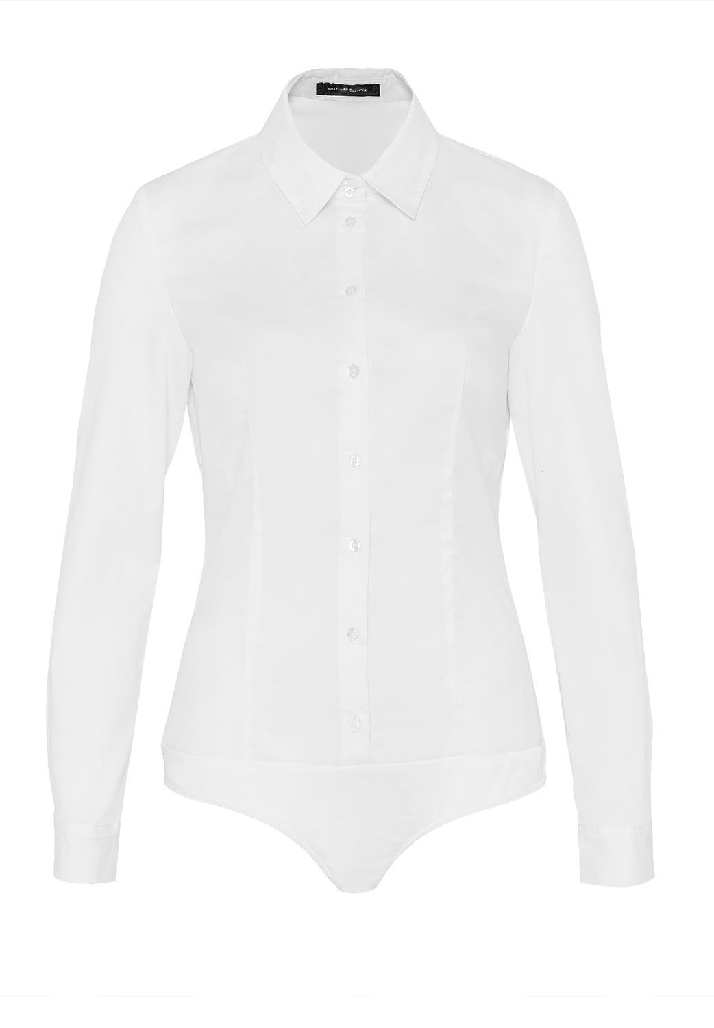 Hallhuber Body blouse CLARISSA, White