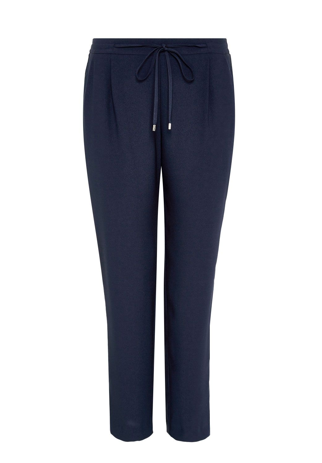 Hallhuber Tracksuit bottoms with Lurex side stripe, Blue