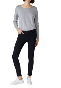 Hallhuber Skinny jeans with chain embellishment