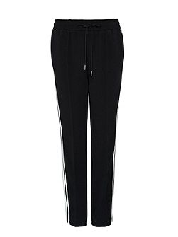 Tracksuit trousers with side ribbons