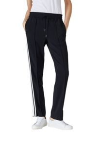 Hallhuber Tracksuit trousers with side ribbons