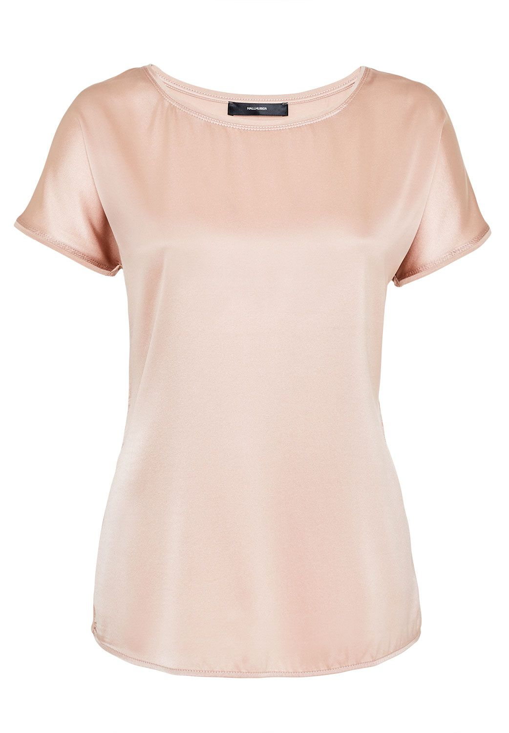 Hallhuber Mix-and-match silk top, Pink