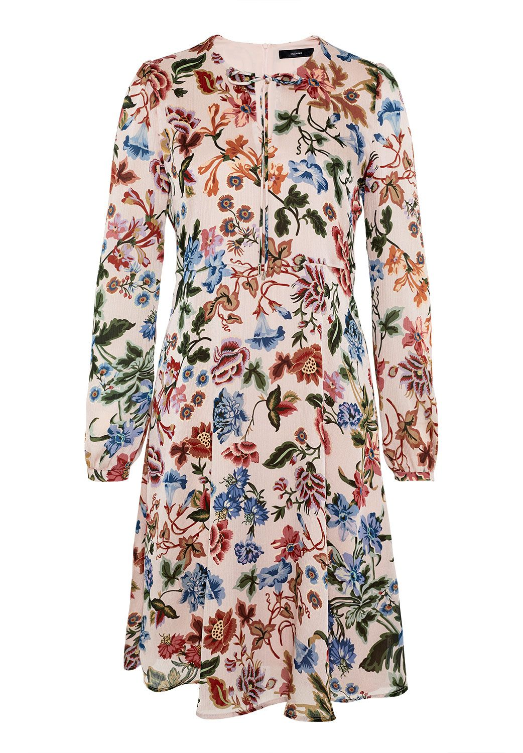 Hallhuber Floral A-line dress, Multi-Coloured