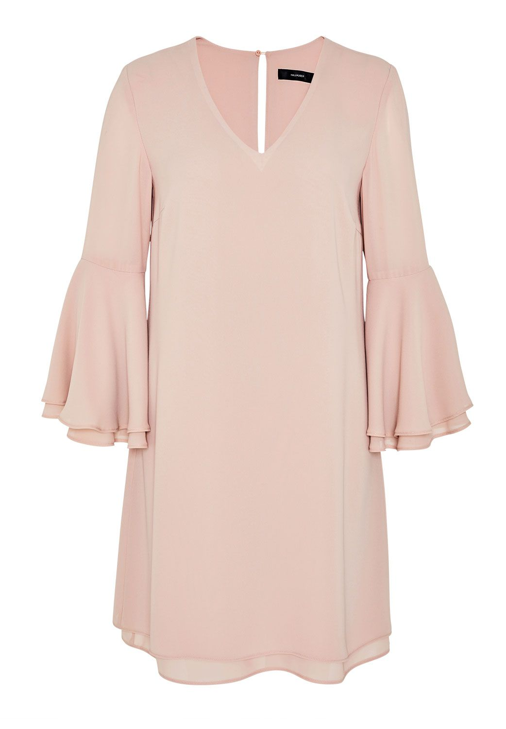 Hallhuber Double Layer Dress, Pink
