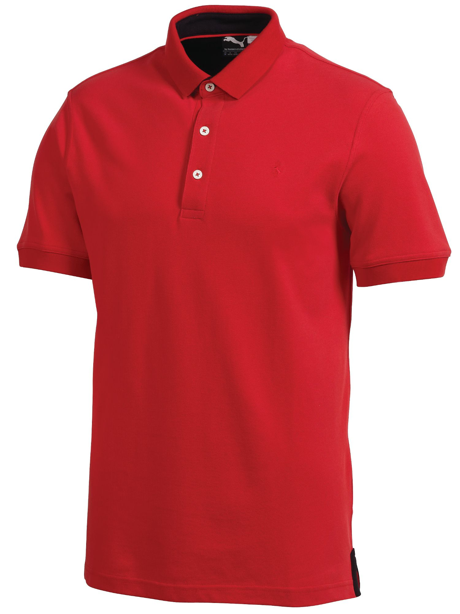 Ferrari stretch pique polo