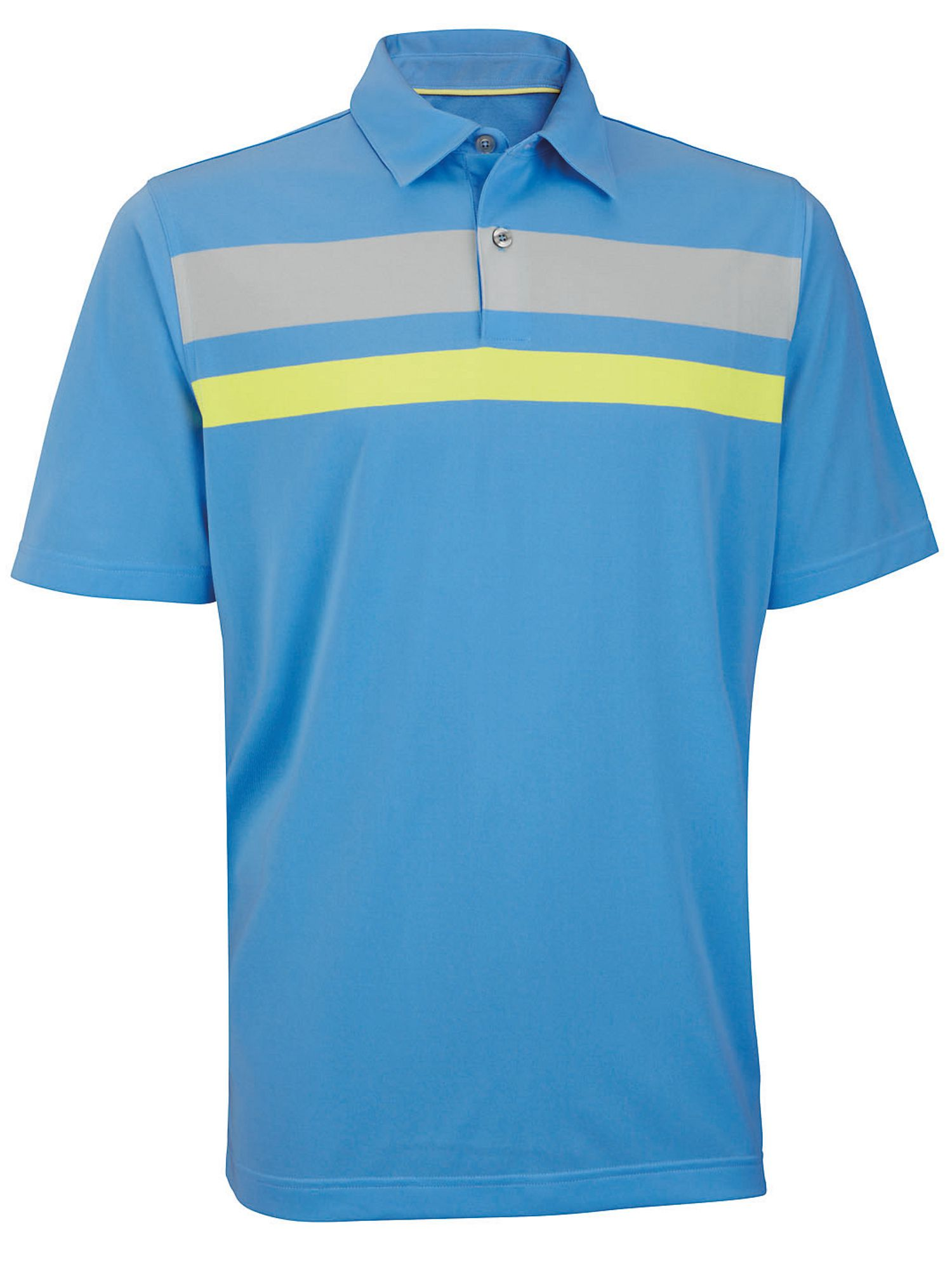 Performance engineer chest stripe golf shirt