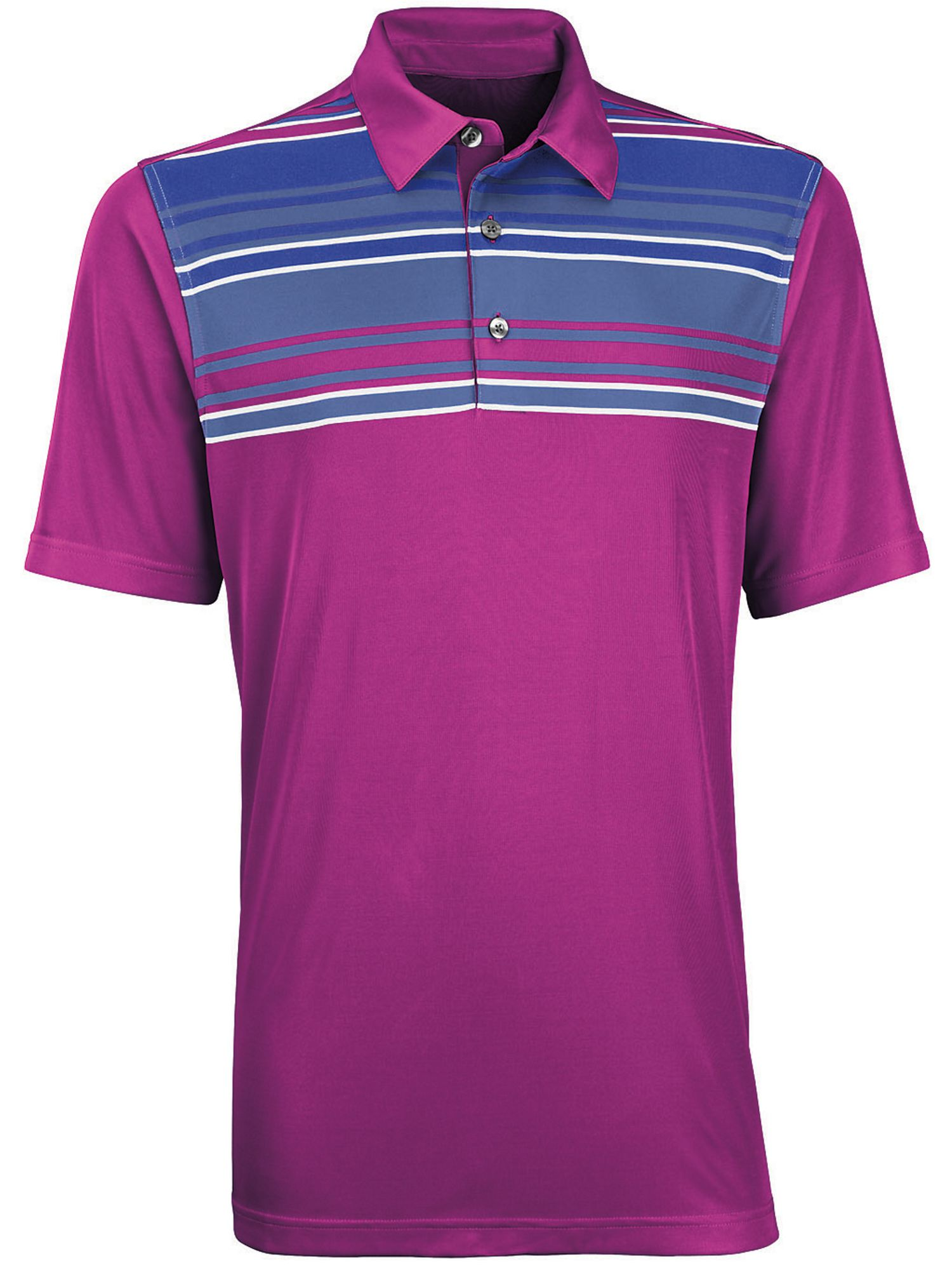 Performance front panel engineer golf shirt