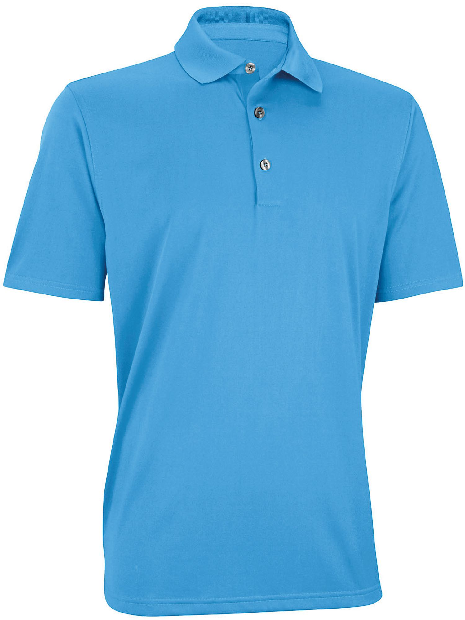 Performance solid golf shirt