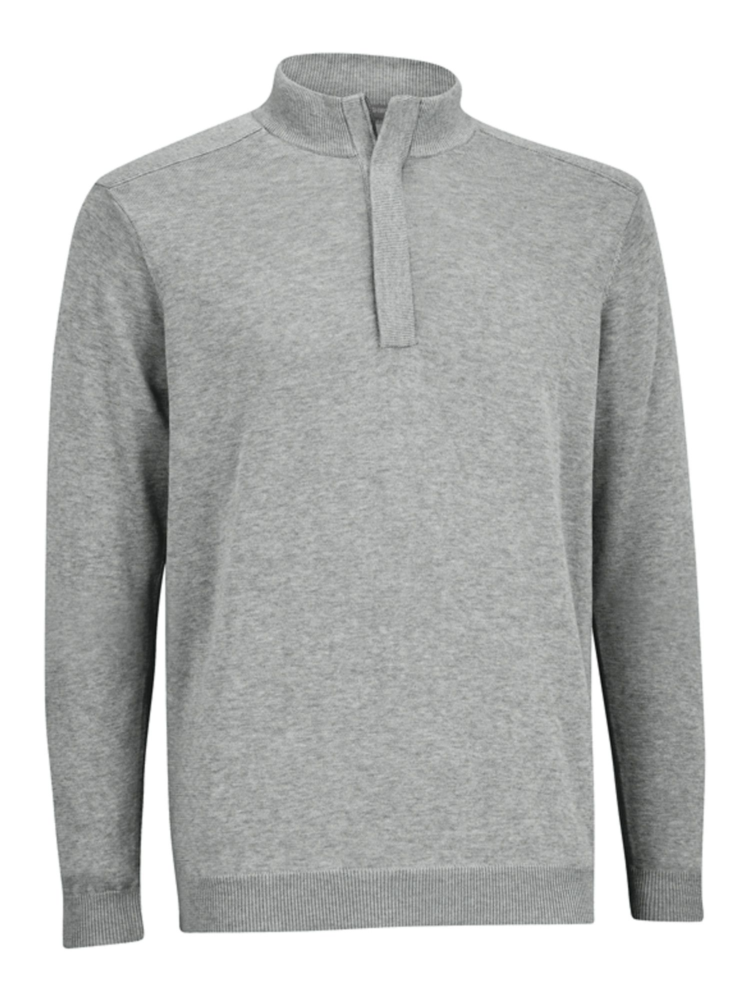 Performance half-zip wind sweater