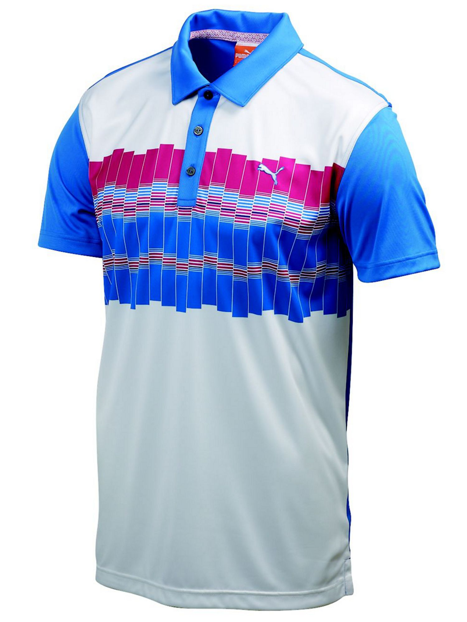 Graphic tech polo