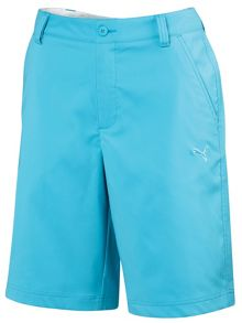 Solid tech casual shorts