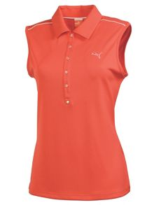 Golf tech sleeveless polo