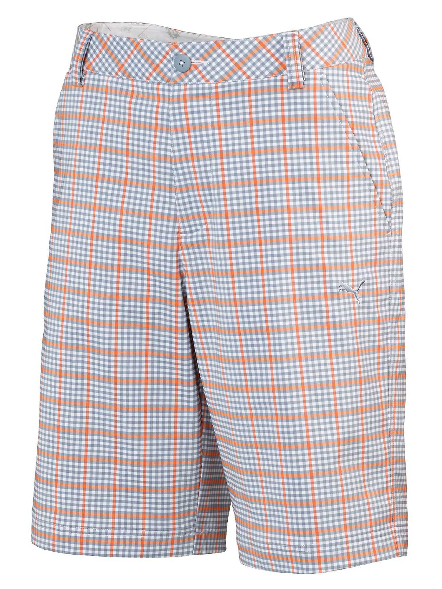 Plaid tech casual shorts