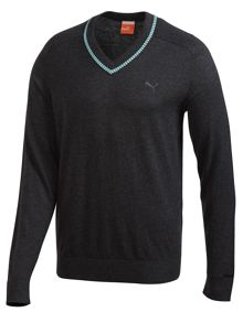 Lux v neck jumper