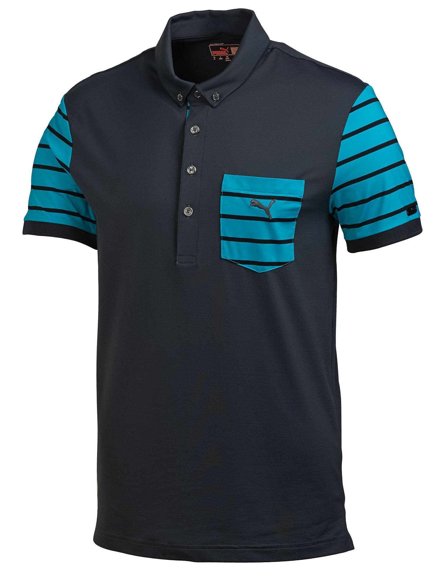 Lux pocket polo shirt