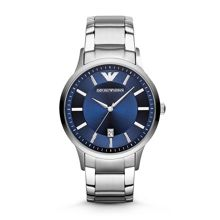Emporio Armani Ar2477 mens renato stainless steel watch