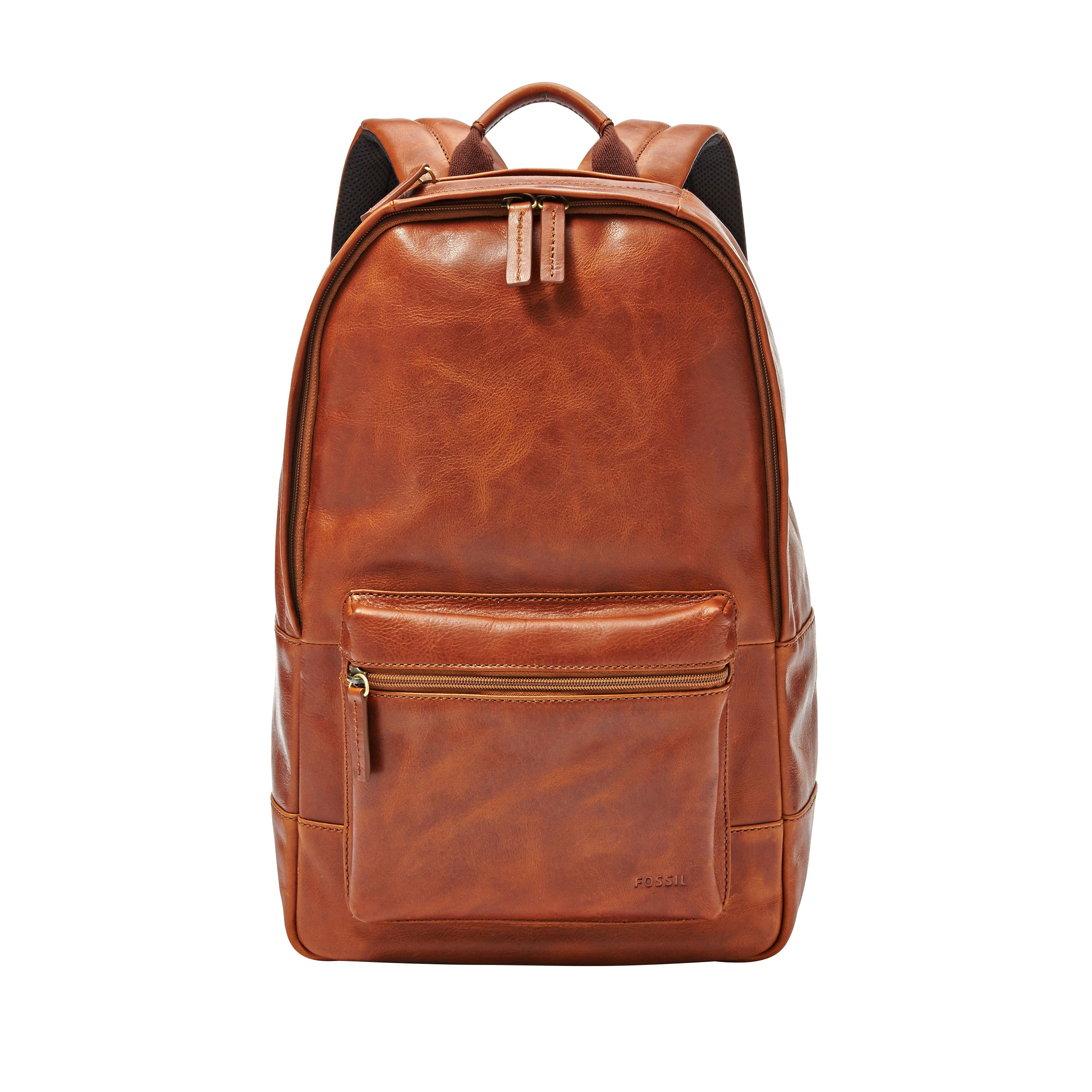 Fossil MBG9242222 mens backpack Brown