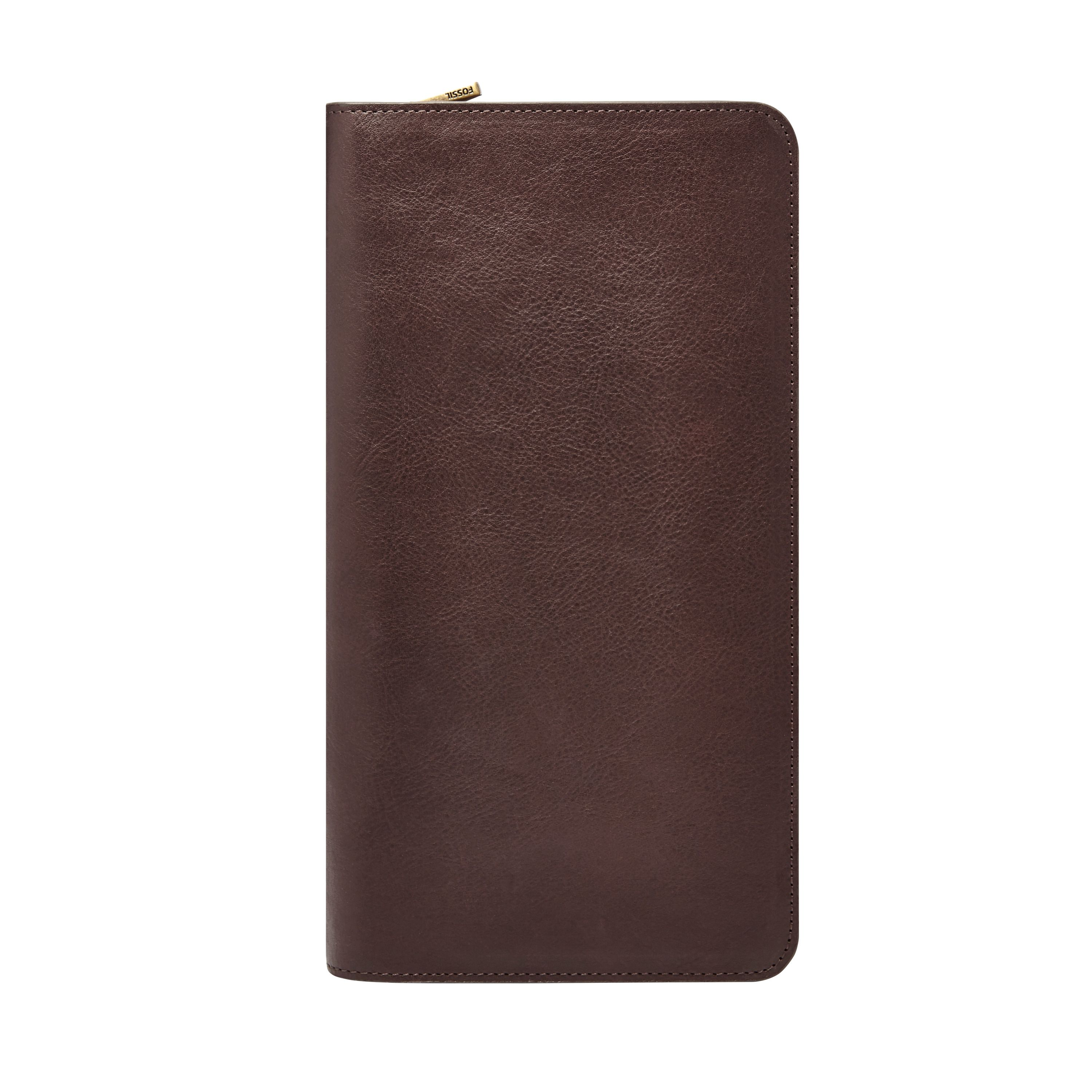 Fossil Mlg0334201 phone wallet Brown