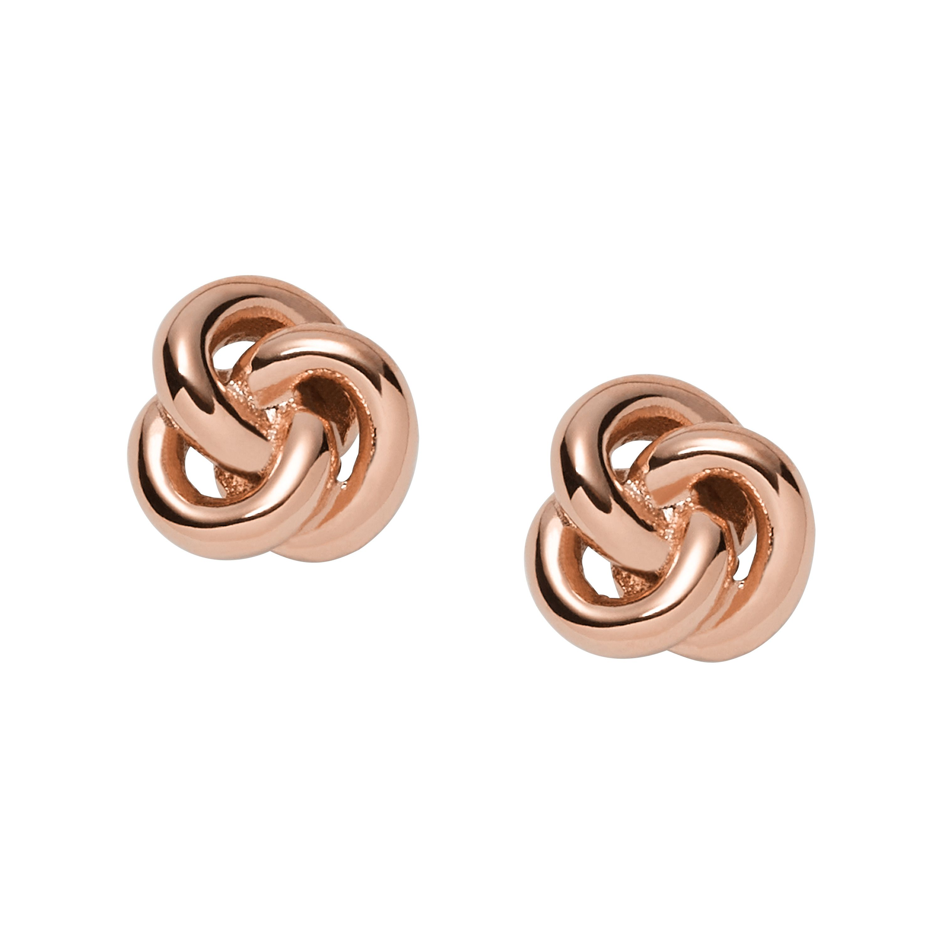 Fossil Jf01364791 ladies earrings, Rose Gold