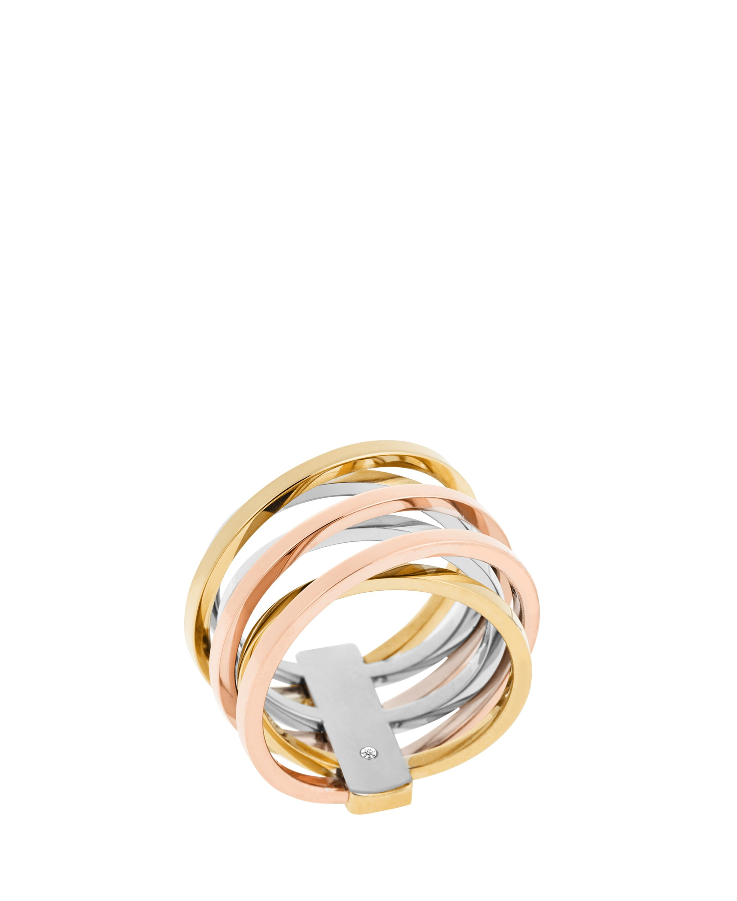 Michael Kors MKJ4421998 Ladies ring Metallic