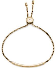 Michael Kors MKJ4641710 Ladies Bar Slider Bracelet
