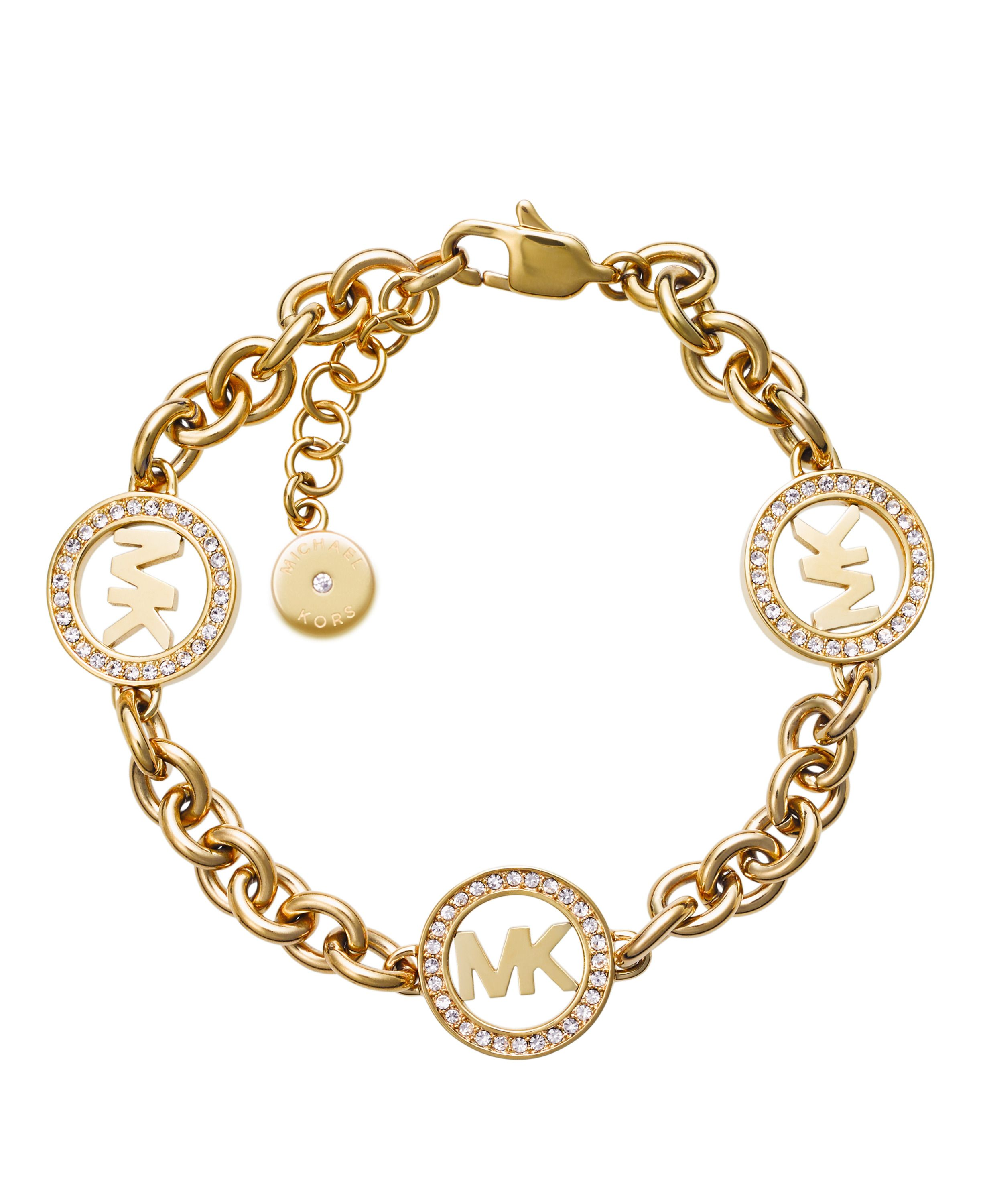 Michael Kors MKJ4729710 Ladies Bracelet Gold Metallic