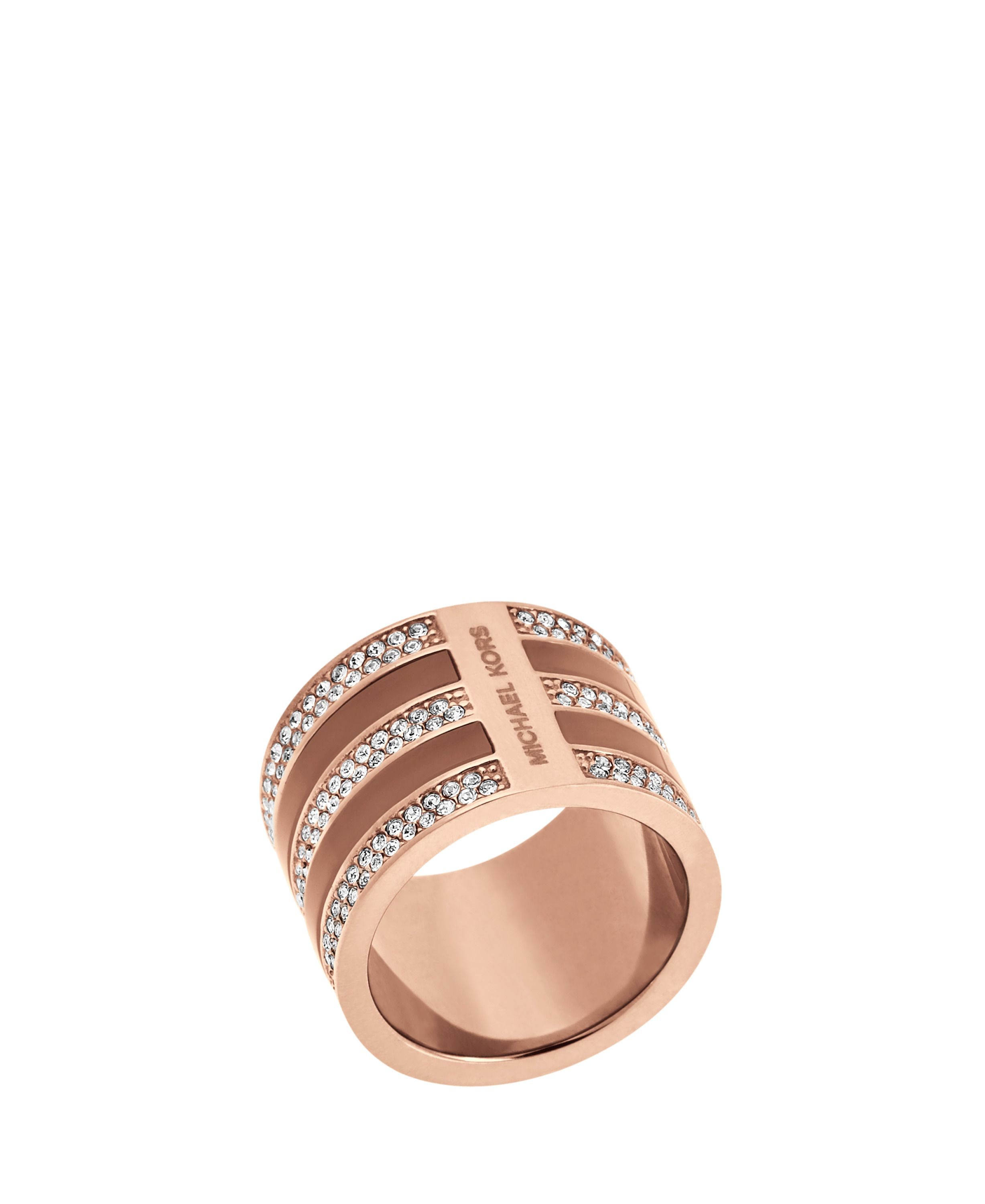 Michael Kors MKJ5027791 Ladies ring Rose Gold