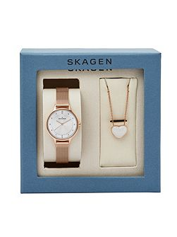 Skw1072 ladies watch and necklace set