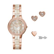 Fossil Es3965set ladies bracelet watch
