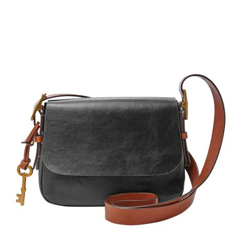 Fossil ZB6759001 ladies small saddle crossbody