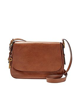 ZB6760200 ladies large saddle crossbody