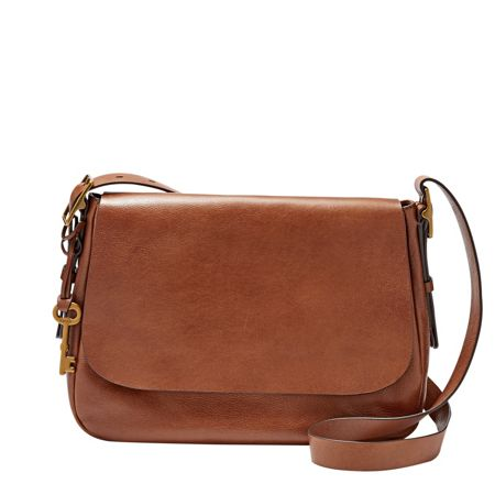 Fossil ZB6760200 ladies large saddle crossbody