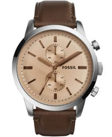 Fossil Fs5156 mens strap watch