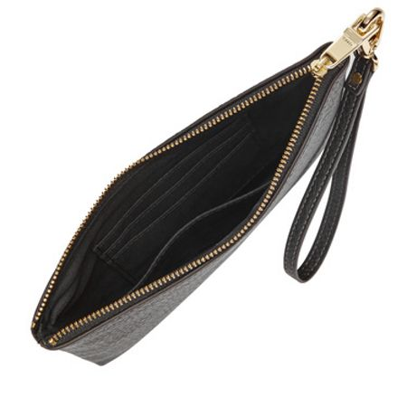 Fossil Small wristlet black