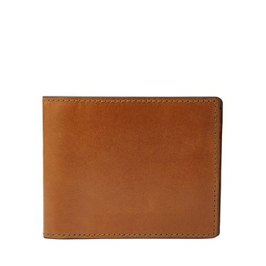 Fossil Isaac bifold Light Brown