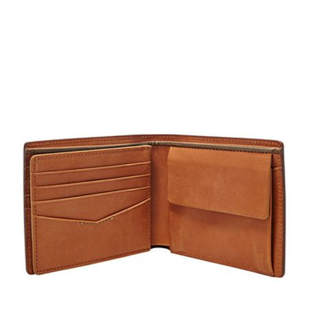 Fossil Isaac large coin pocket bifold