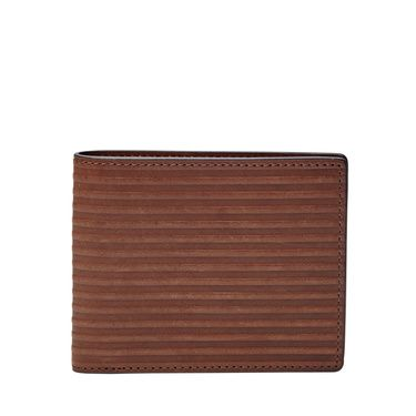Fossil Avery bifold Dark Brown