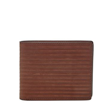 Fossil Avery large coin pocket bifold Dark Brown