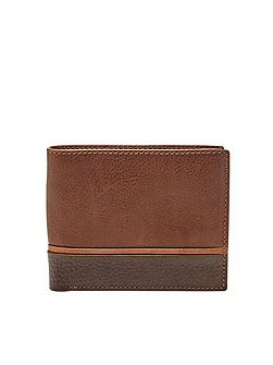 Ian large coin pocket bifold
